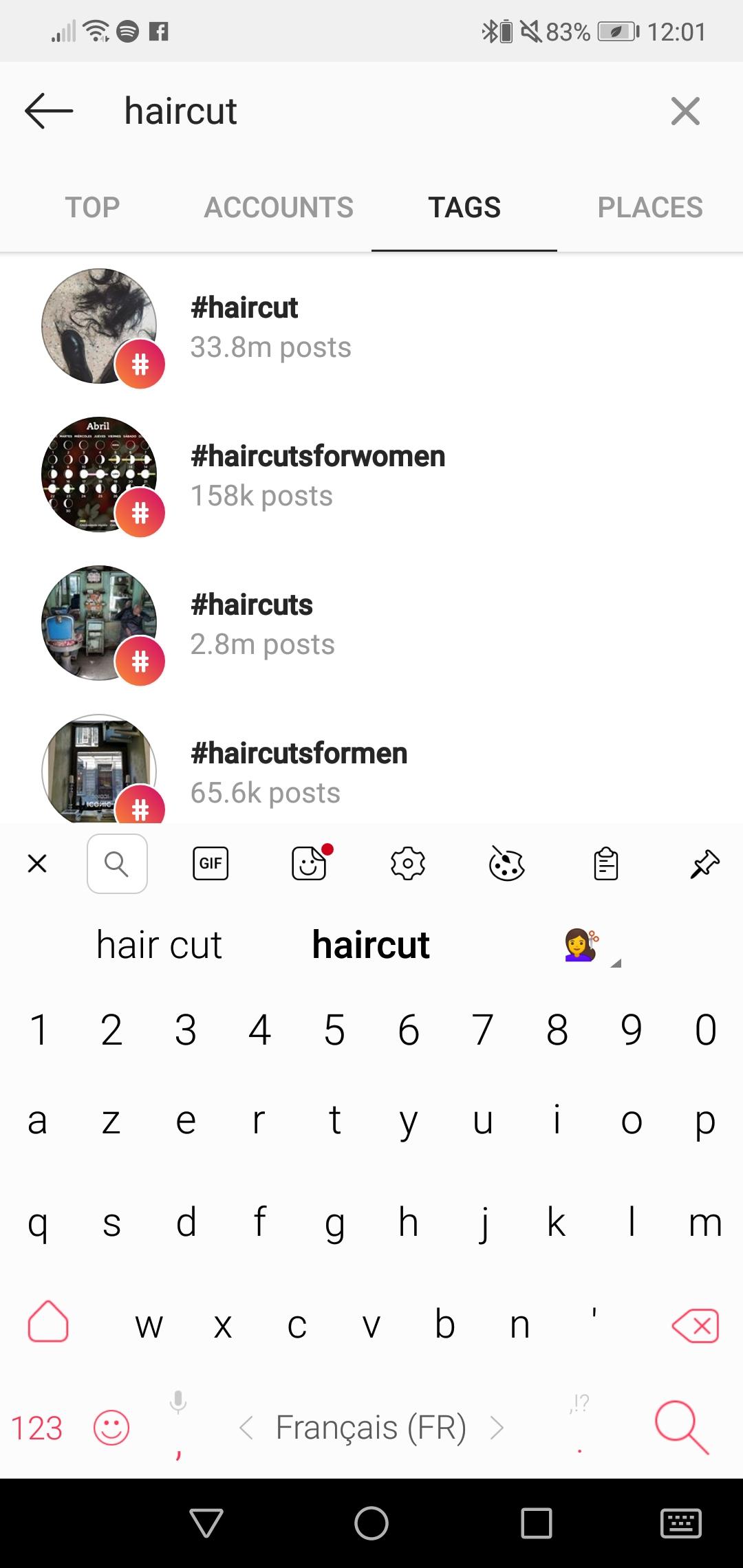 Les hashtags pour votre salon de coiffure 1
