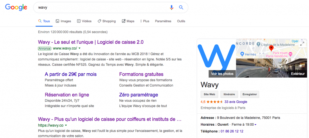Google My Business Wavy